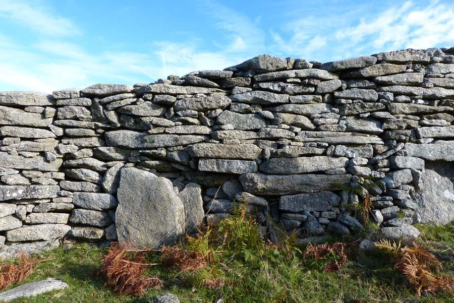 Muro de mampostería de piedra